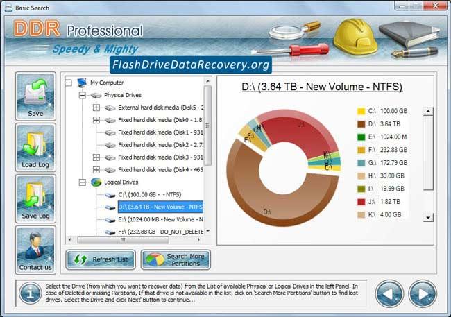 Windows 7 Professional Flash Drive Data Recovery 4.0.1.6 full